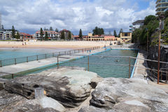 Queenscliff swimming pool, Northern Beaches, Sydney, Australia Royalty Free Stock Photo