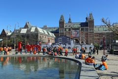Queensday 2012 Royalty Free Stock Photo