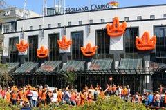 Queensday in Amsterdam Stock Afbeeldingen