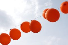 Queensday decoration Stock Photography