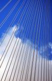 Queensferry-Überfahrt-Brücken-Detail Stockfoto