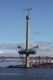 Queensferry横穿塔  库存图片
