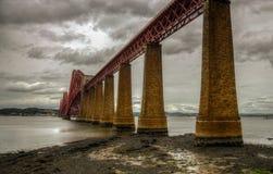 Queensferry bro Arkivfoto