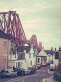 Queensferry del nord a Edimburgo Immagini Stock