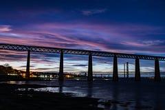 Queensferry forth bridge royalty free stock photos