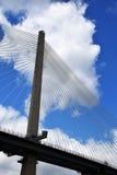 Queensferry mosta szczegółu skrzyżowanie Zdjęcie Stock