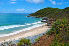Queensland coast. A view of the coast in Noosa National Park, Queensland, Australia royalty free stock photo