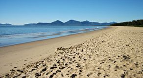 Queensland Coastal Beach Scene Royalty Free Stock Image