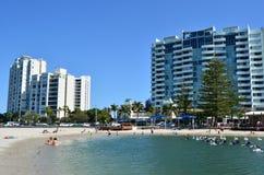 or Queensland de côte de l'australie Photographie stock