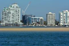 or Queensland de côte de l'australie Photos libres de droits