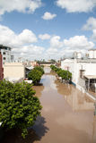 Queensland Floods: South Brisbane Royalty Free Stock Photo