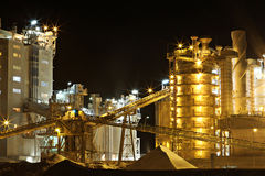 Queensland Industry. Magnesium refinery Parkhurst Stock Photography