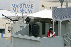 Queensland Maritime Museum in Brisbane. BRISBANE, AUS - SEP 25 2014:Pirates on the Diamantina show at Queensland Maritime Museum.With wide range of interesting Royalty Free Stock Photography