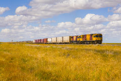 Queensland Outback Diesel Locomotives Stock Images
