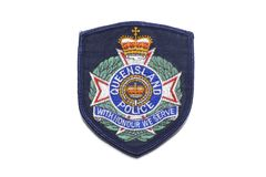 Queensland Police Badge Stock Images