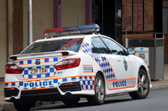 Queensland polisservice (QPS) - Australien Royaltyfri Fotografi