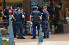 Queensland polisservice (QPS) - Australien Fotografering för Bildbyråer