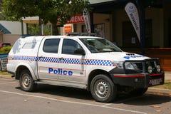 Queensland polisservice (QPS) - bil Arkivbild