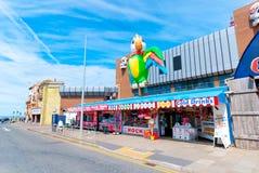 Queenspromenad i Blackpool Arkivbild