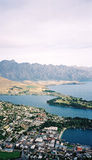 Queenstown. View of Queenstown Royalty Free Stock Images
