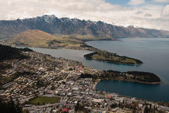 Queenstown Photographie stock
