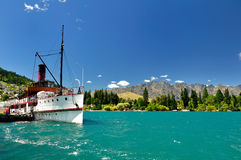 Queenstown. Taken at Queenstown, New Zealand stock photos