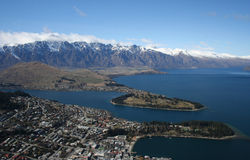 Queenstown Stock Foto's