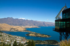 Queenstown. South Island, New Zealand royalty free stock photography