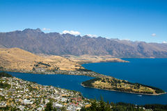 Queenstown. South Island, New Zealand stock photography