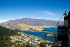 Queenstown. South Island, New Zealand stock image