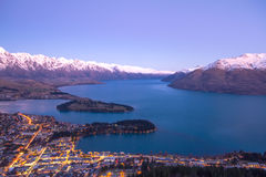 Queenstown Royaltyfria Foton