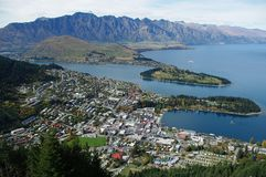 Queenstown Fotografia Royalty Free
