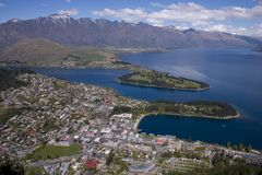 queenstown Obrazy Stock