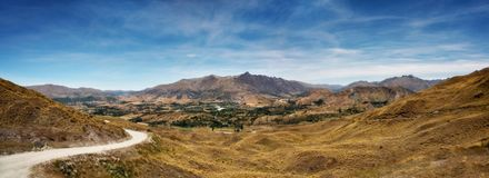 Queenstown Arrowtown Nature New Zealand royalty free stock photo