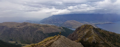 Queenstown, Ben Lomond Track, Nouvelle-Zélande Photos libres de droits
