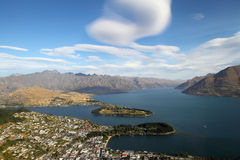 Queenstown day view Royalty Free Stock Photos