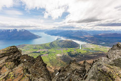 Queenstown donnent sur Photo stock