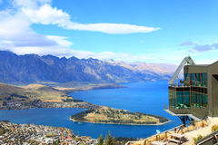Queenstown downtown Royalty Free Stock Photos