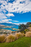 Queenstown downtown Stock Image