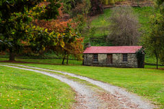 Queenstown Farm House. Farm house in Queenstown New Zealand Royalty Free Stock Images