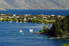 Queenstown lake Royalty Free Stock Photography