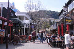 Queenstown Market. Street New Zealand Royalty Free Stock Photography