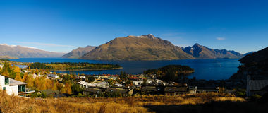 Queenstown in the morning Stock Images