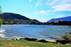 Queenstown, Neuseeland Stockbild