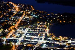 Queenstown, Neuseeland Lizenzfreie Stockbilder