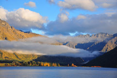 Queenstown, Neuseeland Stockbild