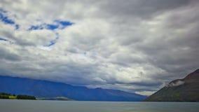 Queenstown Neuseeland stock footage