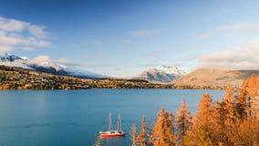 Queenstown, Neuseeland Lizenzfreie Stockfotos