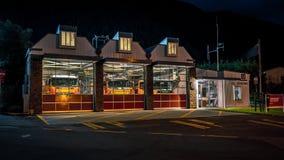 Queenstown, Neuseeland - Stadtfeuerwache lizenzfreies stockbild