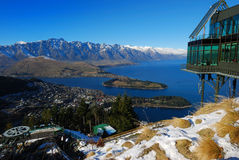 Queenstown New Zealand Stock Image
